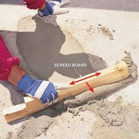 How to Fix Sidewalks That Are Chipped and Pitted