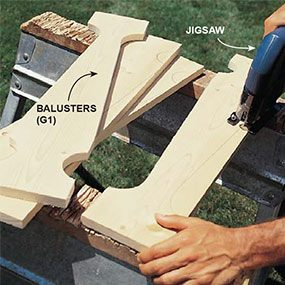 Cut the Balusters