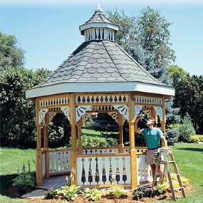 Painting your gazebo