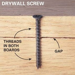 Using Drywall Screws for Woodworking