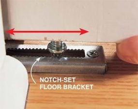 Photo 2: Floor bracket