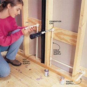 Kitchen Sink Plumbing Trap Stub Out Length