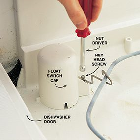 Photo 4: Remove the float switch