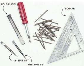 Photo 3: Secondary tools