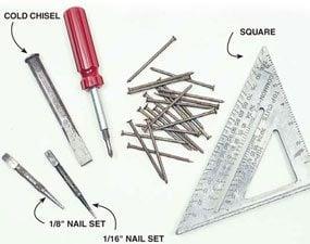 Photo 3: Secondary tools