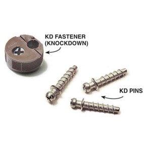 Knockdown fastener