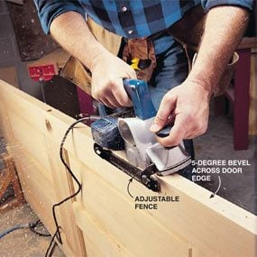 How to Use a Power Planer