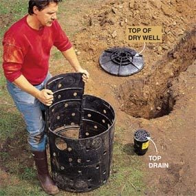 Photo 4: Put the dry well together