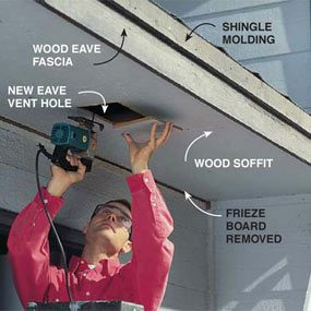 Photo 1: Prep the soffit