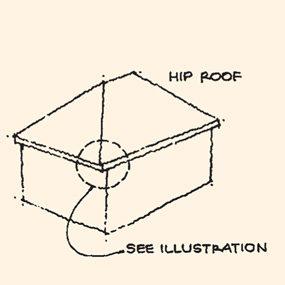 Roof sketch