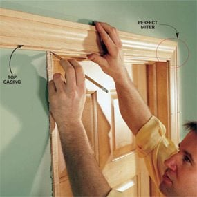 interior trim installation