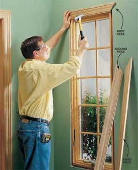 Ordinaire Install Interior Trim Around A Window