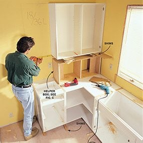 Frameless Kitchen Cabinets The Family Handyman
