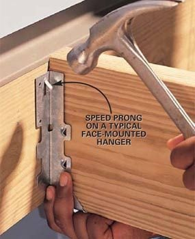 Photo 2: Set the hanger