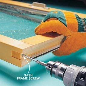 Photo 1: Remove corner screws