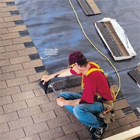 How To Shingle A Roof The Family Handyman