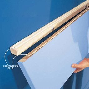 How To Build Floating Shelves The Family Handyman