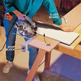 Photo 2: Cut closet components