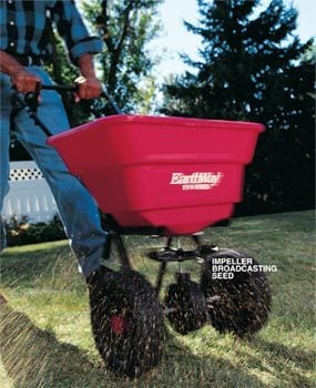 Photo 1: Spreaders use rotary action
