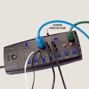 Quality surge protectors protect electronics