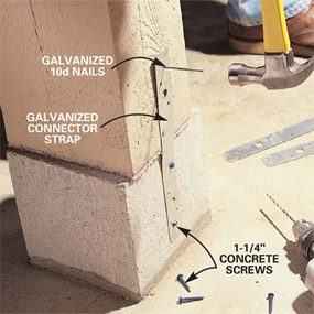 How to Repair a Load-Bearing Post