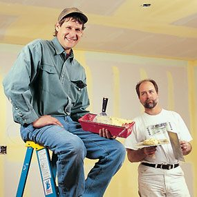 Drywall taping pros
