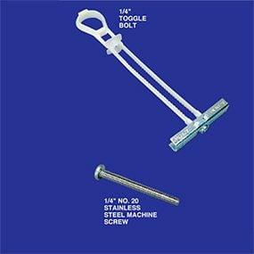 Toggle bolts
