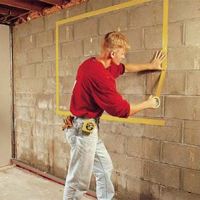 how to install basement windows and satisfy egress codes the family