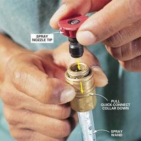 Inserting Nozzle Tip