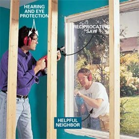 how to install a bow window bow window installation project youtube