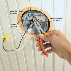 How to install ceiling fans the family handyman how to install ceiling fans aloadofball Image collections