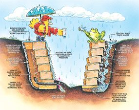 How To Build A Retaining Wall Stronger The Family Handyman