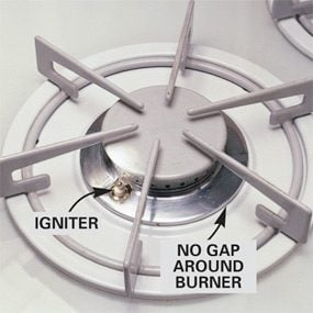 Sealed burner range