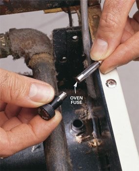Photo 1: check the fuse