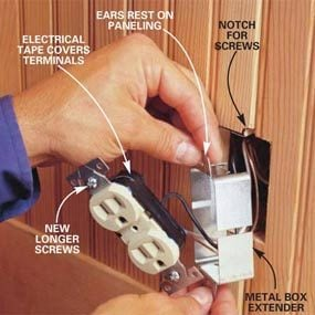 Photo 10: Install a box extender
