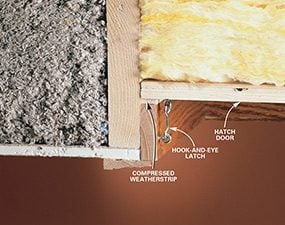 How to Seal Attic Air Leaks