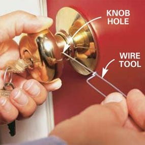 How to ReKey a Door Lock Family Handyman
