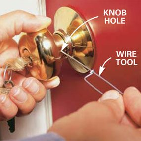 How to Rekey a Door Lock