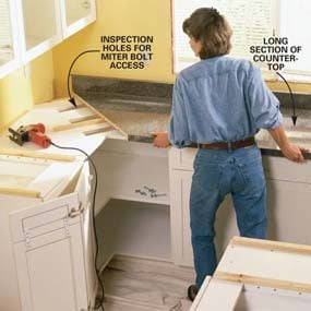 How to Install a Countertop