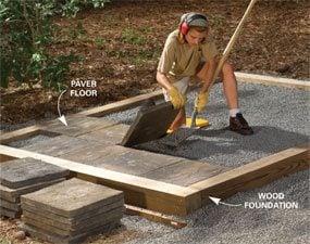 Alternatives to a concrete slab