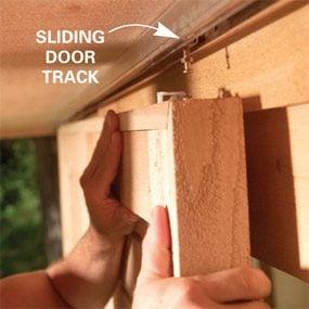 Check sliding door hardware weight capacity