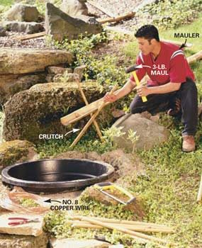 How to Build a Bamboo Water Feature
