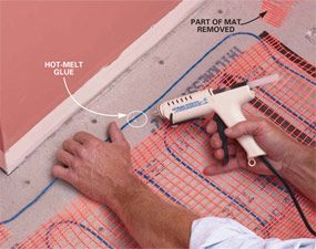 How to Install In-Floor Heat