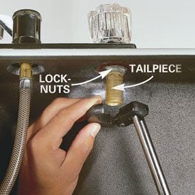 How To Replace A Kitchen Faucet The Family Handyman - Replacing a kitchen faucet
