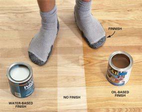 Water Based Vs Oil Based Polyurethane Floor Finish The