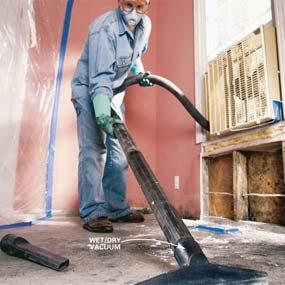 Photo 5: Vacuum debris