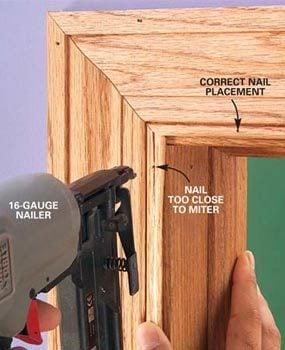 Photo 3: Problem: Split trim at the ends