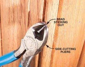 Photo 6: Problem: Nail won't set flush