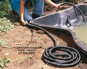 Photo 6: Hide the hose