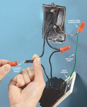 How to Install a Dimmer Light Switch | Family Handyman